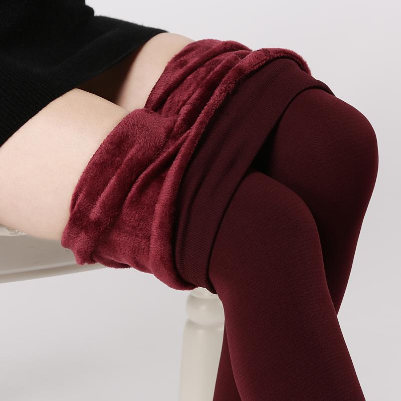 Гаджет  Hot!! Plus Cashmere Women Leggings Casual Winter Warm Faux Jeggings High Elastic Thick Slim Fitness Sport Pants  None Одежда и аксессуары