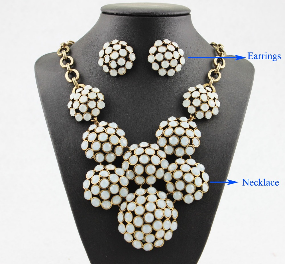 Buy 2014 Fashion Boutique Lady Costumes Jewelry Wholesale Row Boathouse Crystal
