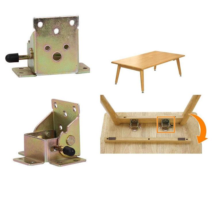 Furniture leg folding hinge connector,55x60x72mm Gate leg table fold up leg tea table locker hinge gemel coupling home hardware(China (Mainland))