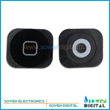 home button for iphone 5C function keys original new,Black,Free shipping,100% gurantee and best price(China (Mainland))