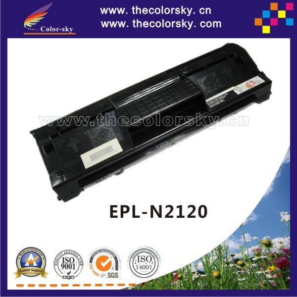 (CS-E2120) compatible toner printer cartridge for EPSON EPL-N2120 EPLn2120 EPL n2120 SO51077 bk (10k pages) free shipping FedEX<br><br>Aliexpress