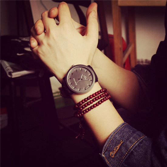 Minimalism Man Woman Fashion Watches Leather Band Big Dial Dress Quartz Watch Casual Clock Free shipping Sport Wristwatch(China (Mainland))