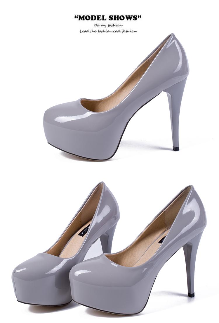 2016 popular fashion pumps stiletto shoes
