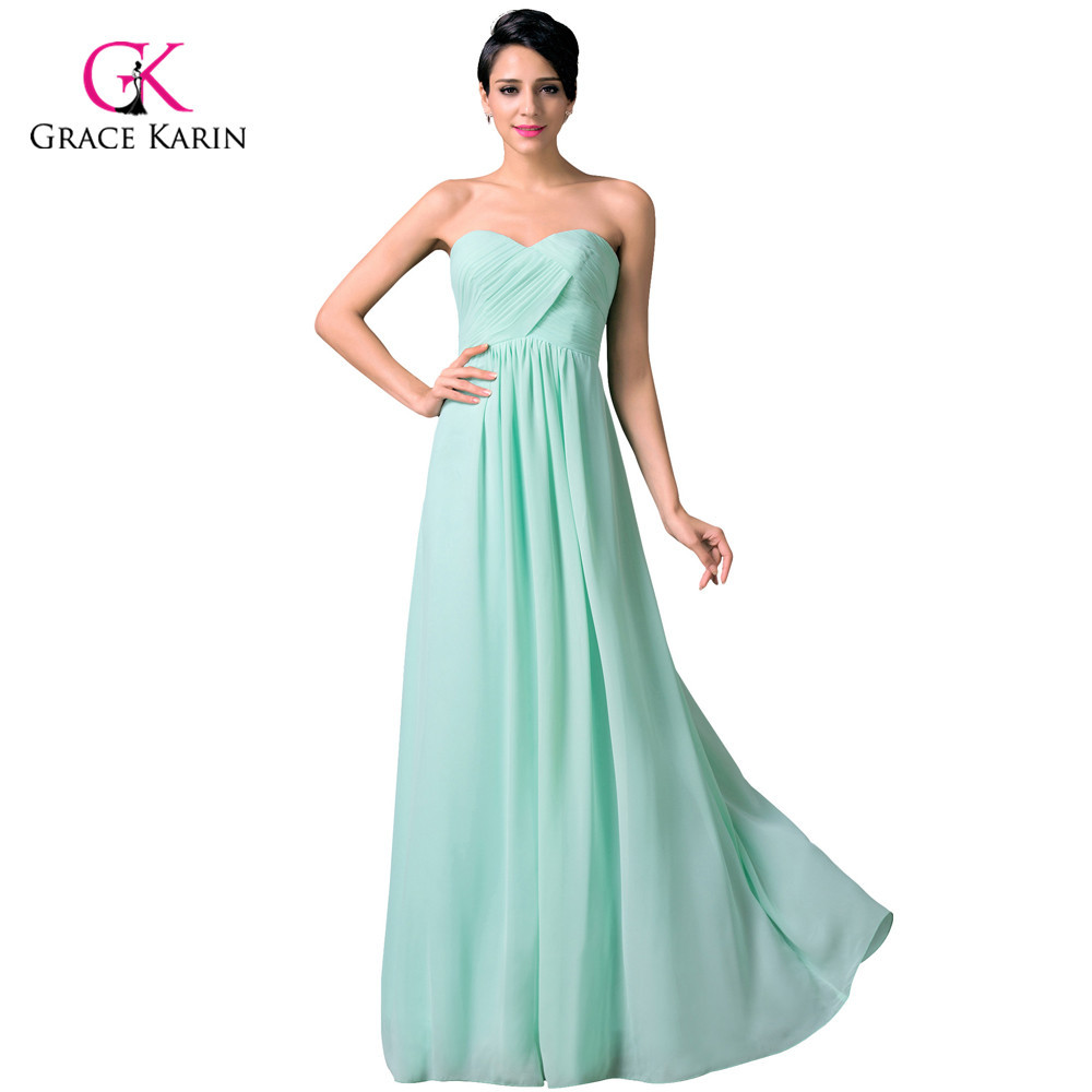 Beautiful chiffon cheap long turquoise bridesmaid dresses for Dresses for wedding bridesmaid