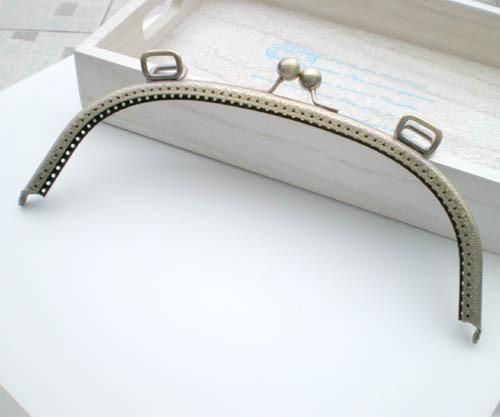 Free Shipping /25 cm big bag Purse Frame ,purse frame for DIY Bag Accessories/ Wholesale(China (Mainland))
