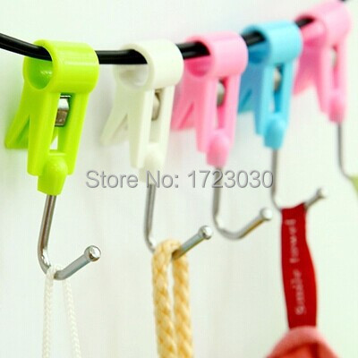 4PCS Stainless Over Door Multipurpose Hooks Kitchen Cabinet Draw Towel Clothes Pothook LH1591(China (Mainland))