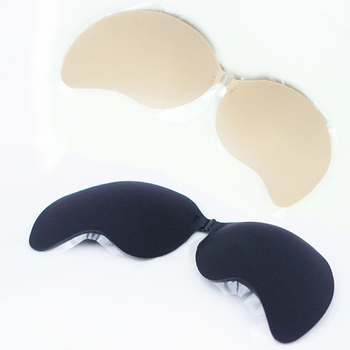Hot Selling!! Women Push Up Silicone Bra BH Stick On Invisible Self Adhesive Bras Cup ABCD