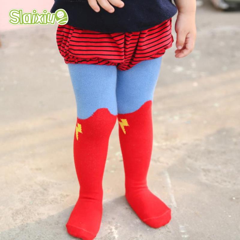 Super Hero font b Boys b font Girls Tights Pantyhose Kids Stocking Infant font b Clothing