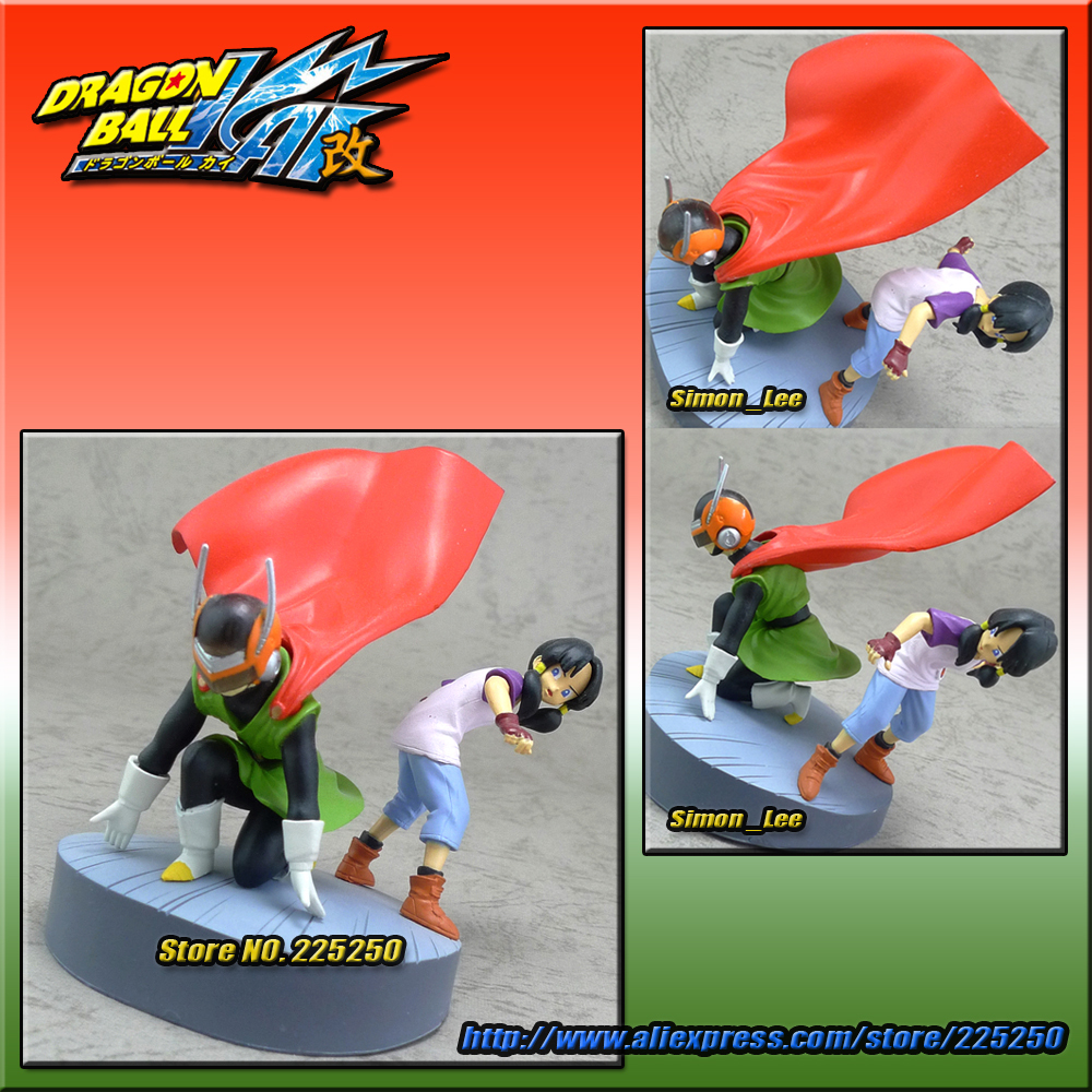 DRAGONBALL Dragon Ball Z/Kai Genuine Original BANDAI Gashapon HG Imagination Toys Figure Part 2 Great Saiyaman Gohan & Videl - DRAGON BALL Store store
