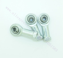 12pcs/lot Kossel Mini Rostock Robot Delta 3D Printer Rod Ends Self-lubricating Rod Ends Bearings Spherical Plain Bearings