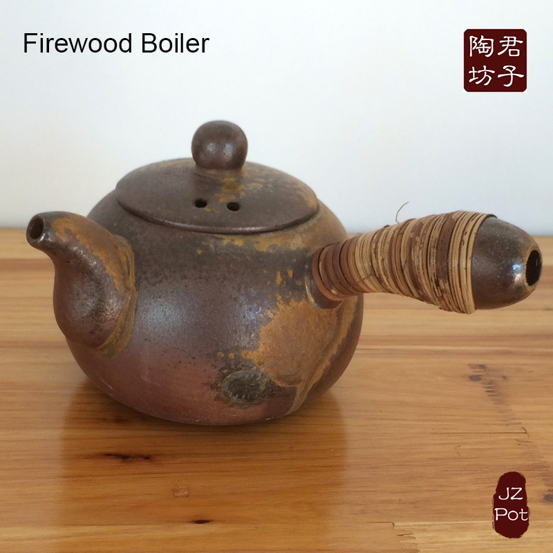 Yixing Purple Clay Pot, Firewood Tea Pot, Clay Kettle, Ash Glazed Boiler, Japanese Tea Pot Set(China (Mainland))