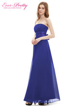 Long Bridesmaid Dress Sexy Chiffon Bow Coral Bridesmaid Dress 2016 HE09060YL Wedding Party Dress(China (Mainland))