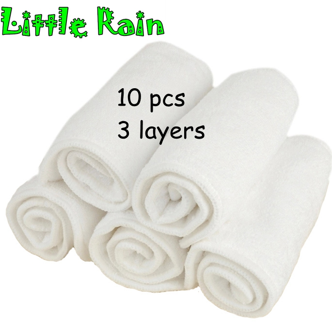 Reusable Washable Inserts Boosters Liners For Real Pocket Cloth Nappy