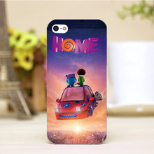pz0004-19-2 Cute For Home Cartoon Design Customized cellphone transparent cover cases for iphone 4 5 5c 5s 6 6plus Hard Shell