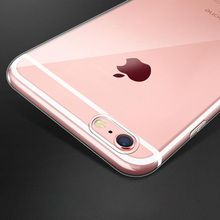 Buy Flexible Clear TPU Case iphone 7 Plus 5 5s SE 6 6s 6Plus 7Plus Slim Crystal Back Protect Rubber Cover Fundas Silicone Gel for $1.06 in AliExpress store