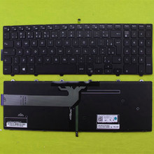 BR Brazil Laptop Replacement keyboard Dell Inspiron 15-5000 Series 5547 5521 5542 BLACK Backlit,Win8 Cuaderno de teclado - CIES Trading Co.,Ltd. store