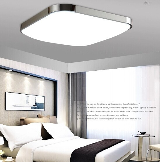 2PCS 99%OFF Modern LED Apple Ceiling ligh Square 12W 30CM led Ceiling Lamp kitchen light bedroom modern livingroom free shipping(China (Mainland))