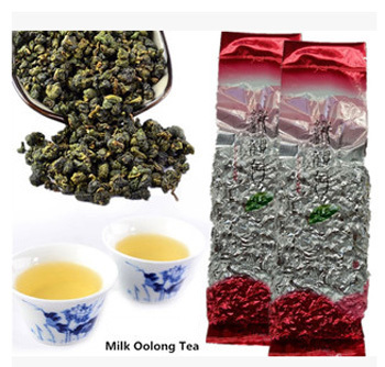 Taiwan milk oolong tea 125g High quality milk oolong tea Freeshipping Green tea milk oolong Tea for weight loss(China (Mainland))