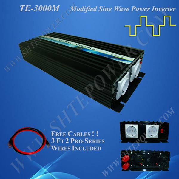 48v to 230v inverter, micro solar inverter 3000w, dc 48 ac 230 converter(China (Mainland))