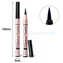 2015 Hot Sales Black Eye Liner 1PCS Smooth Waterproof Cosmetic Makeup Eyeliner Pencil Good Quality