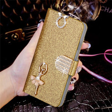 "Buy Luxury Bling Liquid Glitter Cover ZTE Blade A510 510 5.0"" Cover Flip PU Leather Phone Coque Card Slot for $2.79 in AliExpress store"