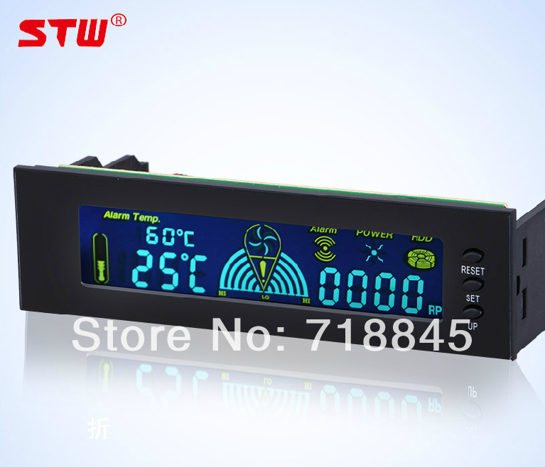 STW5006 computer case fan speed controller automatic temperature controller drive bit CPU fan speed controller with