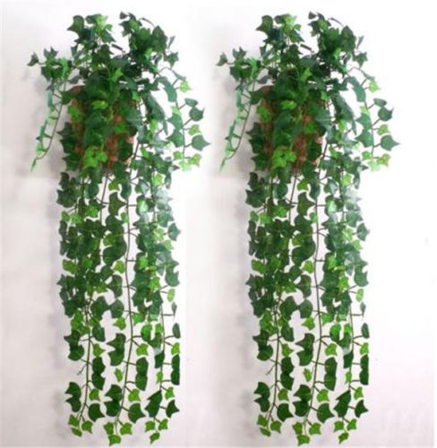 NewBrand Green Artificial Plastic Ivy Leaf Garland Plants Vine Foliage Flowers Home Decor #5072(China (Mainland))