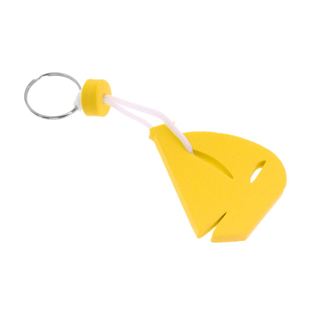 4pcs Key Ring Floating Boat Keyring Float Key Marine Sailing Canoeing Rafting Dinghy Water Sports Keychain