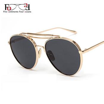 2016 Fashion Newest Popular Sunglasses Women Brand Designer Pilot Sun Glasses Men Gafas Oculos De Sol Feminino Masculino