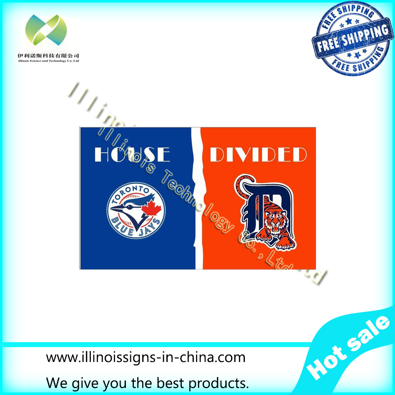 blue jays and detroit tigers flag(China (Mainland))