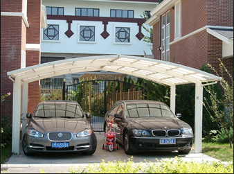 Carports-Green and environmental double AL carports(China (Mainland))