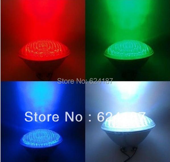 Подводное освещение OUYA PAR56 54W 12V RGB IP68 18led piscina CE RoHS