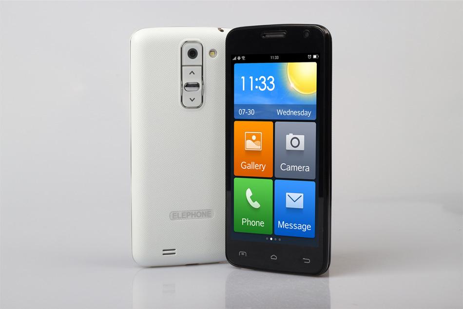 Original Elephone G3 Android 4.4 MTK6572 Dual Core Smart Phone 512MB RAM 4GB ROM 4.5 inch Camera 3.0MP GPS 3G WCDMA(China (Mainland))