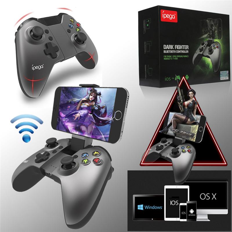Original Brand IPEGA PG-9062 Wireless Bluetooth Gaming Gamepad Game Controller Gamecube Joystick For IOS/Android PC 2016 Newest(China (Mainland))