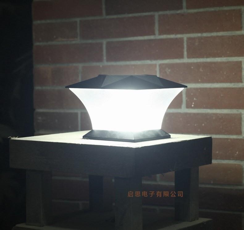 """Solar Lights Lazada: 2 Pieces / Lot Ultra Bright 7"""" Solar Post Cap Light"""