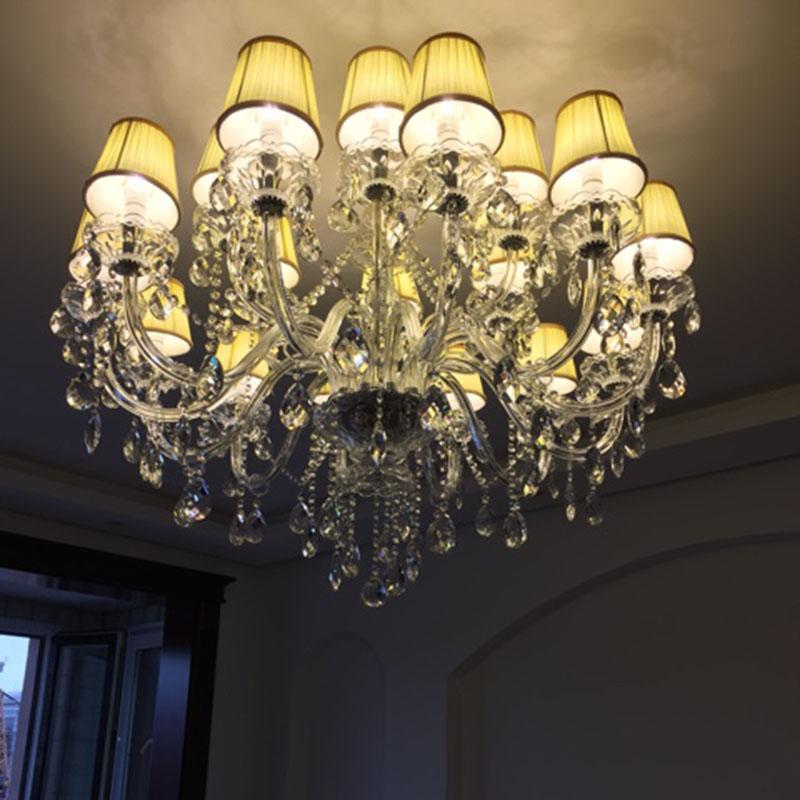 achetez en gros moderne lustre en cristal en ligne des. Black Bedroom Furniture Sets. Home Design Ideas