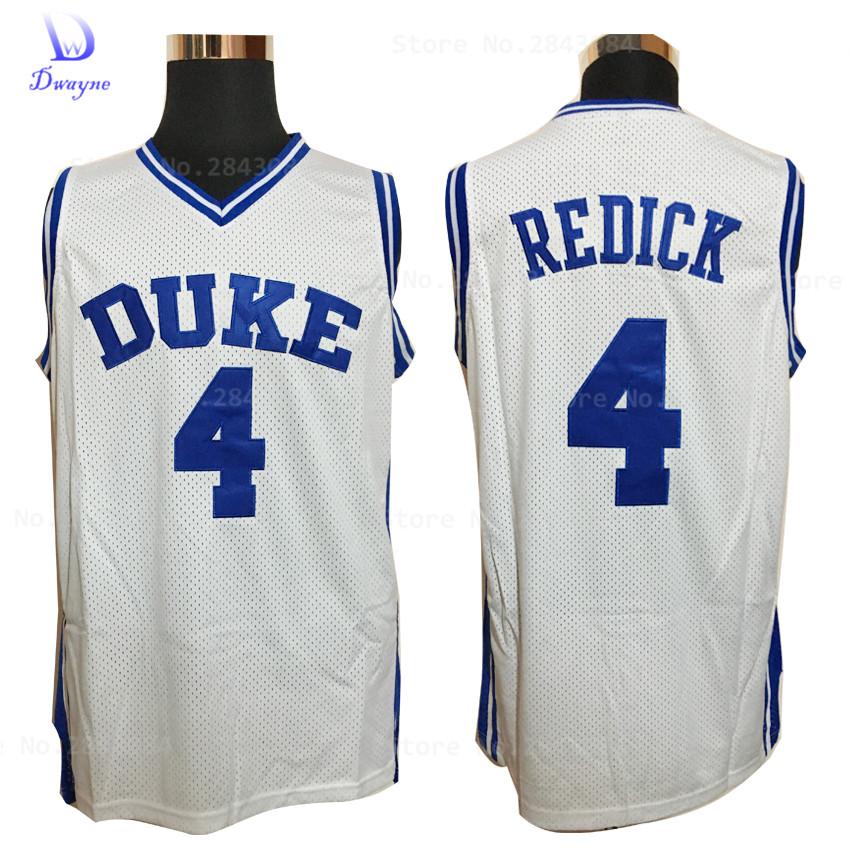 2017 Dwayne Mens Cheap Throwback Basketball Jerseys #4 J.J Redick JJ Jersey Duke University Stitched Basketball Shirts(China (Mainland))