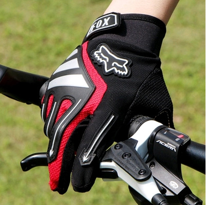 Amazing! Cool Comfortable Cycling Gloves Fox Racing For both Men and Women Scientist Design Wear resistant With GEL Pad(China (Mainland))