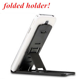 Folding Mobile Holder For Samsung Galaxy Note 4/3/2 S5 Lazy Phone Holder Bed Display Phone Accessories For Jiayu Tablet Holder(China (Mainland))