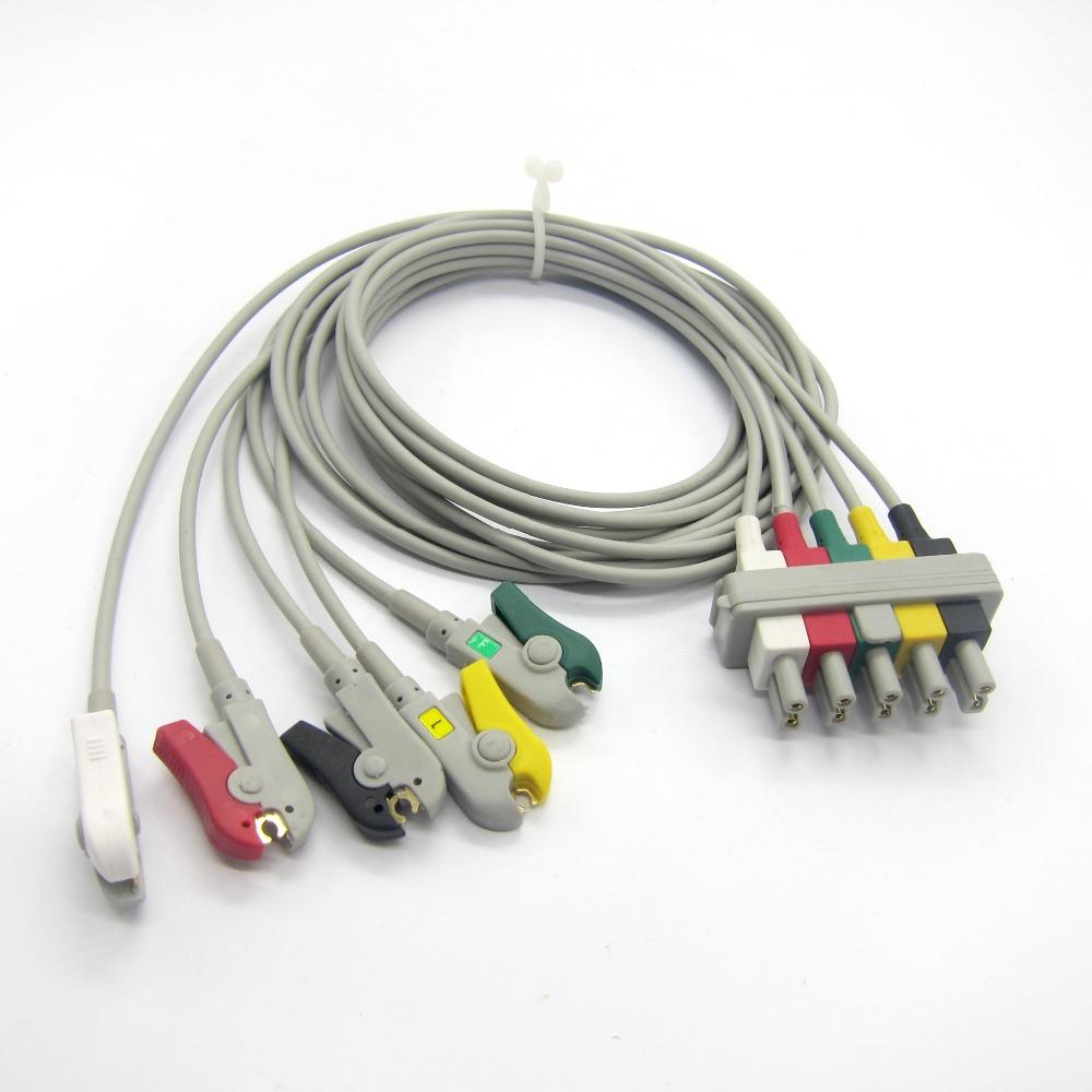MINDRAY MEC1000/2000,PM7000/8000/9000 ECG LEADWIRE CLIP(China (Mainland))