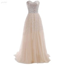 Women Summer Clothing Sexy Strapless Sequins Party Whiter Ball Gown Evening Long Dress(China (Mainland))
