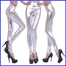 2013 Autumn high quality PU leather trousers high waist skinny leggings 16colors(China (Mainland))