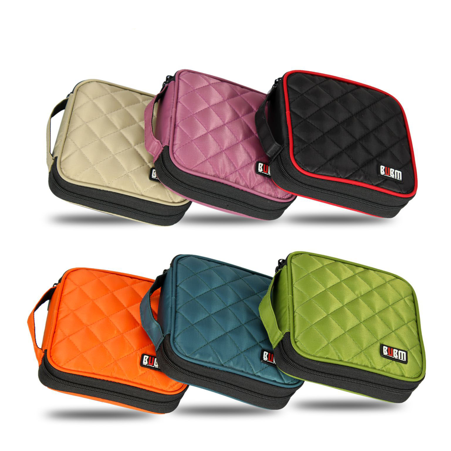 BUBM Fashion Car Auto CD DVD Disk Card Visor Case Holder Clipper Organizer Bag 6 Colors 32 CDs Inside Carry Case(China (Mainland))