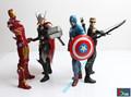 Marvel s The Avengers Captain America Iron Man Black Widow Hawkeye Thor super man Batman
