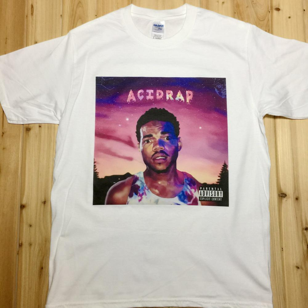 Chance the Rapper Acid Rap Rock Music Band CD T-Shirts Unisex(China (Mainland))