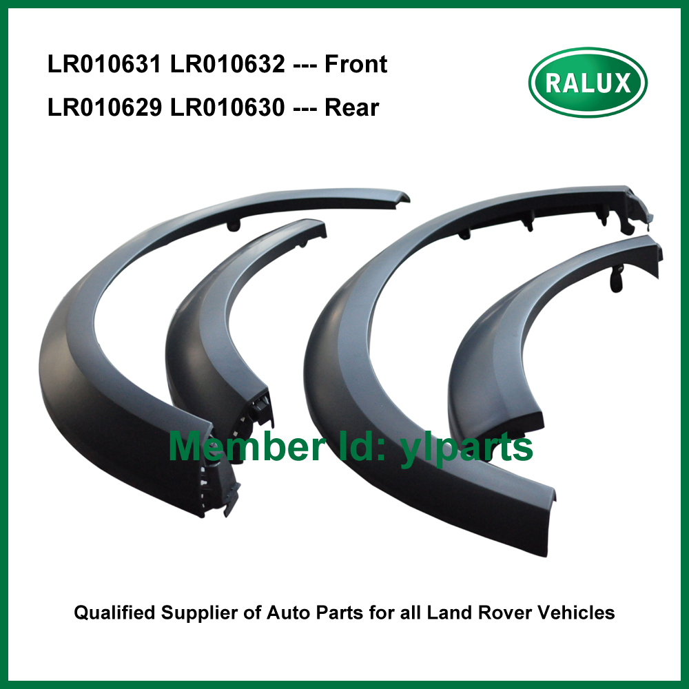 LR010631-RH LR010632-LH front right or left car wheel arch moulding for Landrover LR Discovery 3 / 4 Mudguards auto fender parts(China (Mainland))