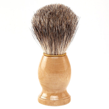 2015 hot Men Pure Synthetic Hair Removal Vintage Badger Shaving Brush Cosmetic Tool  5FAY(China (Mainland))