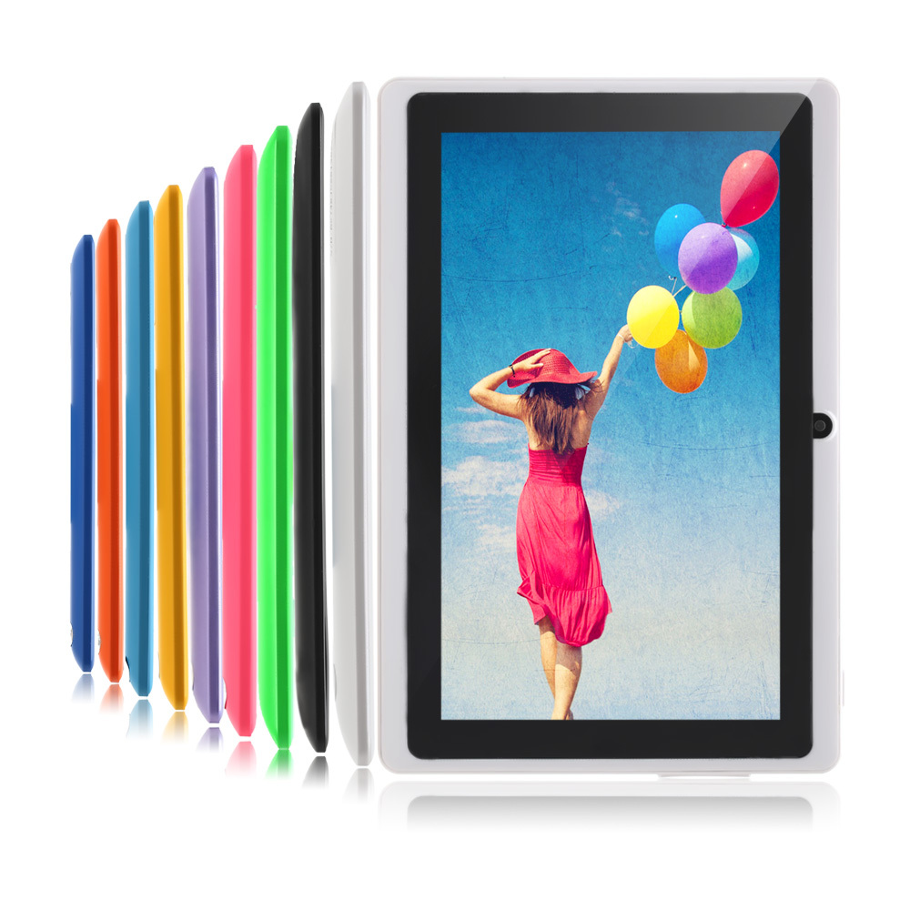 IRULU eXpro X1pro 7 Tablet PC 8GB Android Tablet Computer Quad Core Dual Camera External 3G