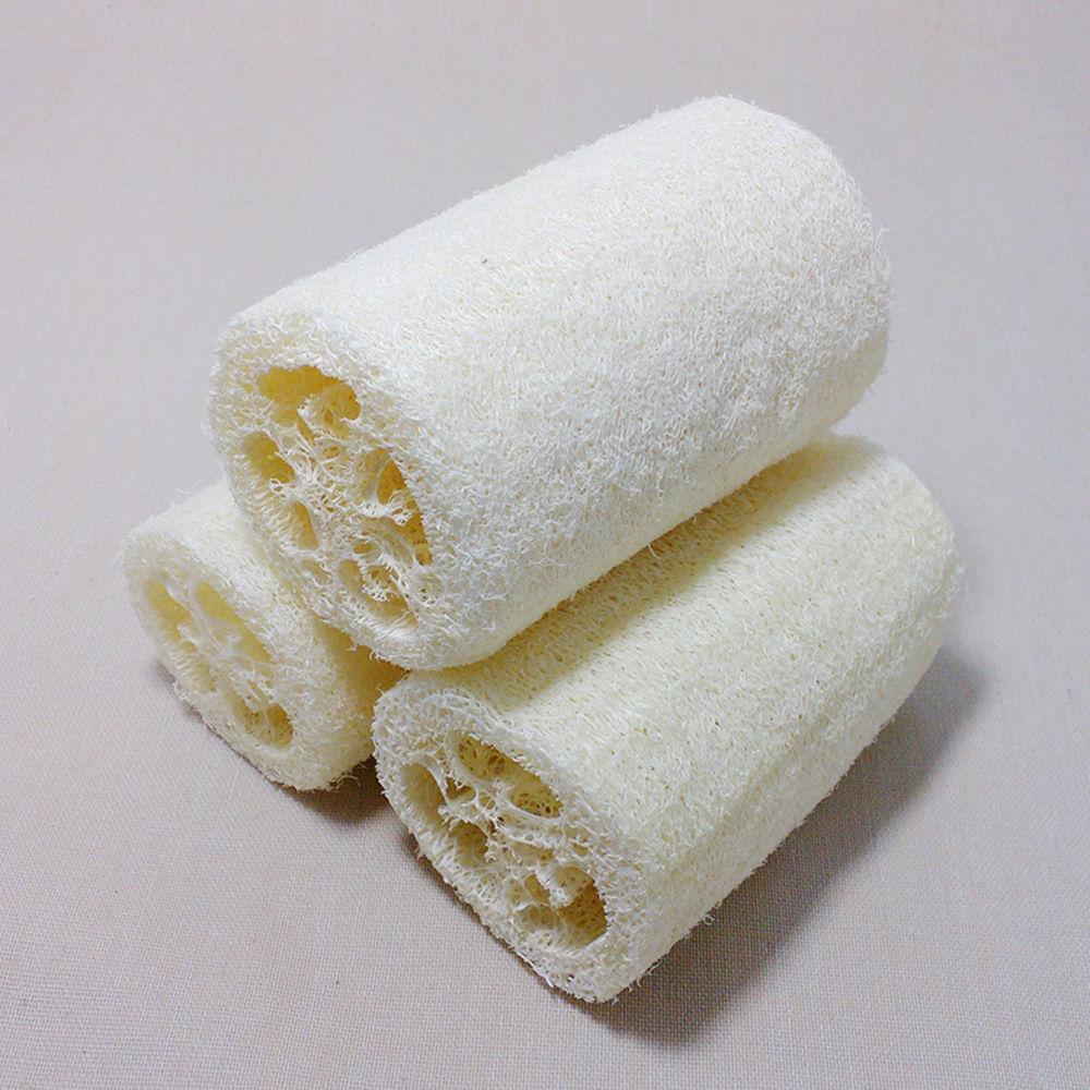 1Pcs Natural Loofah Luffa Loofa Exfoliating Bath Shower Sponge Body Scrubber