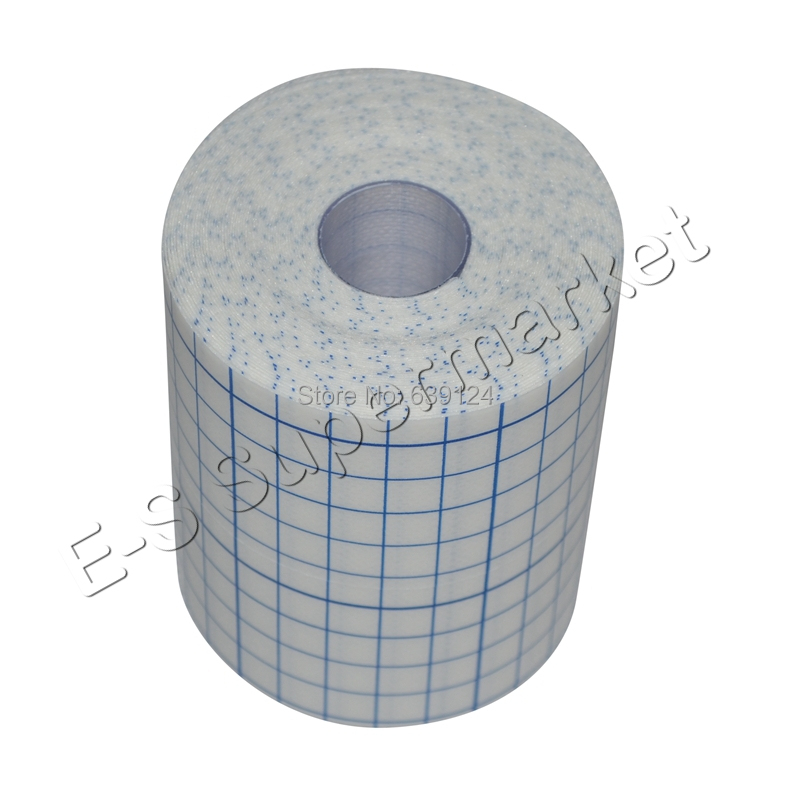 10cm x 10m Cover Roll-stretch Tape Stretch Adhesive Bandage Gauze Fixomull Tape Hypoallergenic Nonwoven Adhesive Wound Dressing